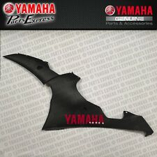 NEW 2015 YAMAHA YZF R6 YZFR6 OEM LH LOWER FAIRING BLACK RAVEN 13S-W2838-R0-P0