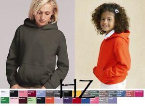 Gildan YOUTH Heavy Blend Hooded Sweatshirt 18500B S-XL Hoodie Cotton/Polyester