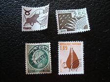 FRANCIA - 4 sellos matasellados sin goma (A23) stamp french