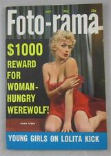 FOTO-RAMA MAG DIGEST OCT 1959 CHRIS STARR DONALDA JORDAN DOLLY BELL JOHN WAYNE