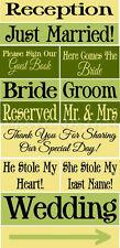 * PRIMITIVE STENCIL ITEM # TW34~13pc Wedding Set~