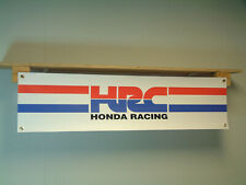 Honda HRC Racing BANNER Garage Motorcycle Workshop Trackside Motorsport Sign