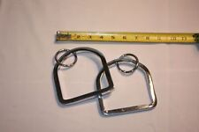 Merry-Go-Round Circus Carousel Horse Stirrups-Chrome Over Steel,Riding,Gift