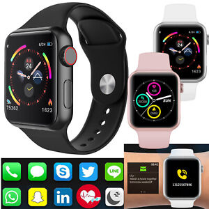 Smart Watch Heart Rate Blood Pressure Fitness Tracker For Men Women Android IOS