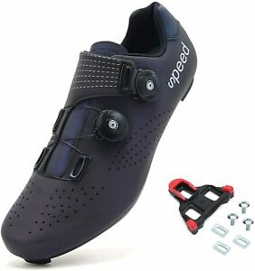 BINSHUN Cycling Shoes for Mens Spin Road Bike with Buckle