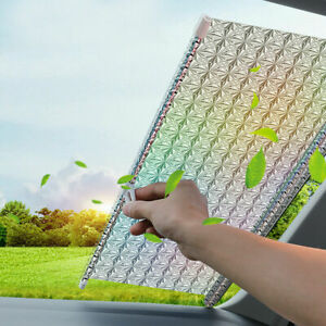 Auto Car Retractable Front Rear Window Sunshade Windshield Sun Shade Cover Visor
