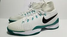 NEW MEN NIKE COURT AIR ZOOM ULTRAFLY TENNIS 819692-103 WHITE GREEN BLACK SZ 12.5