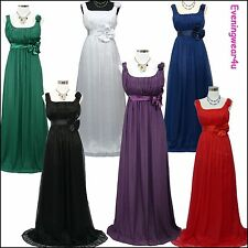 Full Length Chiffon Regular Size Ballgowns for Women