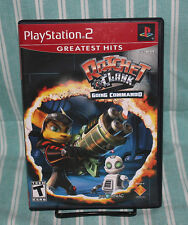 Ratchet & Clank Going Commando PS2 COMPLETE CIB GH Sony Playstation Insomniac