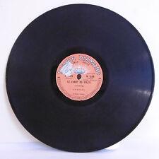 78T 80T SAPHIR Disque Phono DIAMOND Chansons L'OCEAN Spencer CHANT SOLEIL Benech