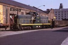 Original Slide New York Dock Railway 88 Brooklyn Bush Terminal Sbk Subway 1977