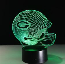 Green Bay Packers NFL Collectible Decor Night Light Touch Lamp- Men,Kids,Women