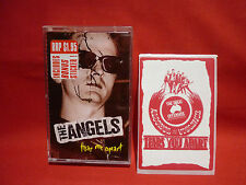 THE ANGELS TEAR ME APART VERY RARE CASSETTE CASSINGLE WITH PROMO STICKER AS NEW