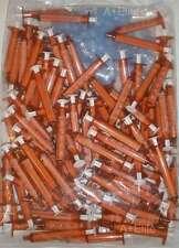 BAXTER BAXA ExactaMed Amber Oral Medicine Syringe Dispenser 3cc/3mL W/ Cap -100-