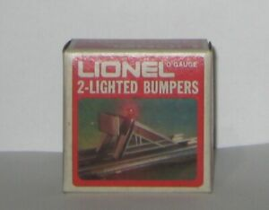 """O"" GAUGE LIONEL 6-2290 2-LIGHTED BUMPERS"