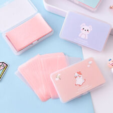 150 Sheets/Box Cartoon Oil Control Oil-Absorbing Blotting Cleaning Paper Cute*