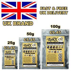 KaiRX - Refill Hair Fibers Keratin Building Thickening Fibres 50g Black Brown UK