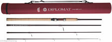 Abu Garcia Diplomat 4 Piece Spinning Rod*3 Sizes 8ft,9ft,10ft*Trout Salmon Game