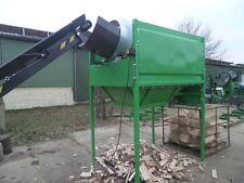 TMS Trommelreiniger Sägespaltautomat Brennholzautomat Spaltautomat