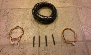 DIY Extension Cable Kit for Kenwood TM-741A TM-732A TM-742A  PG-4K DFK-3 DFK-4
