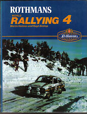 World Rallying Annual No. 4 Rothmans 1981 Season by Holmes & Bishop 1982