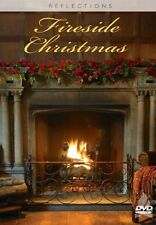FIRESIDE PIANO CHRISTMAS: VIRTUAL HOLIDAY FIREPLACE & DECORATIONS DVD w/ MUSIC!