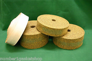 Rubber Nitrile Bonded Cork Strips (Various thicknesses, widths and lengths)
