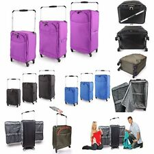 Lightweight Worlds Lightest 4 / 8 Wheel Spinner Suitcase Trolley Case Luggage