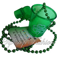 Shot Glass with Whistle Irish Novelty Fancy Dress Accessories St Patrick's Day