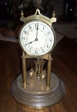 PARTS ONLY German Anniversary Clock w/ Pendulum NO DOME