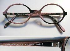 Emmanuelle Khann  Paris 10830 montatura per occhiali vintage frame  anni '90