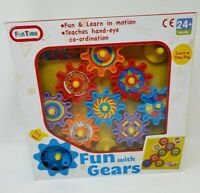 Fun Time  Gears Toy Activity Learning Sensory Toy Motion Baby Toddler Learn Play