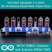 IN-14 Arduino Shield Nixie Tubes Clock [Tubes Columns Arduino] Fast UPS Delivery