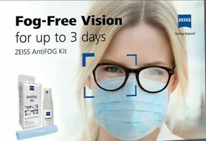 Zeiss AntiFOG Spray -glasses spectacles camera swimming goggle visors scuba mask