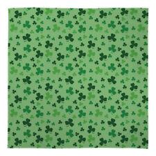 Large Warm Blanket Fleece Throw Green Three Leaf Clover Bed Chair Sofa Car