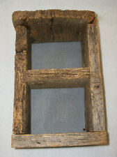 Walnut Hill Creations Weathered Barn Wood Rustic Country Primitive Shadow Box