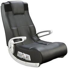 X Rocker II Gaming Chair Video Wireless Black Speakers Family Fun Gamer Rocker