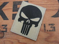 """SNAKE PATCH """" PUNISHER """" écusson TAN SABLE US airsoft COS félin seal OPEX FS"""