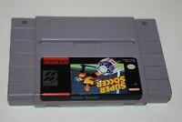 Super Soccer Super Nintendo SNES Video Game Cart