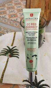 Cc Red correct crème tube Erborian