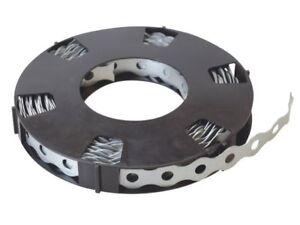 Galvanised Steel Metal Fixing Ribbon 12mm x 0.7mm x 10m
