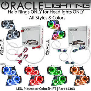 ORACLE Halo Rings Kit for Headlights for 04-08 Ford F150 Mark LT *All Colors