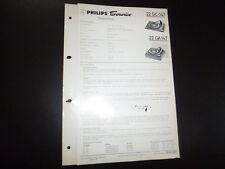 Original Service Manual Philips 22gc047 22ga147