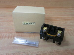 Magnetek SBPU-A2 2 Button Pushbutton Switch SBPUA2 W/2 Screws (Pack of 3)