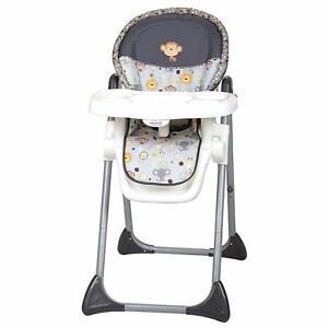 High Chair Baby Toddler Adjustable Monkey Lion Animal Boy Girl Gift Nursery NEW