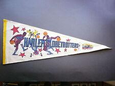 1950'S 1960'S 1970'S HARLEM GLOBETROTTERS BASKETBALL PENNANT FLAG NICE!!