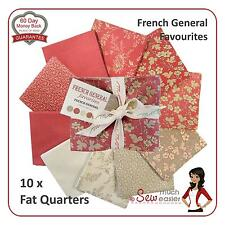 Moda French General Favourites Fat Quarters Fabric Rouenneries vintage favorite