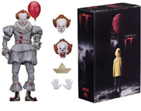 "Clown Pennywise Figure Neca Action Movie New Horror 2017 Toy 7"" Scale Ultimate"