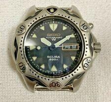 Authentic vintage Seiko automatic quartz scuba mens wristwatch case only
