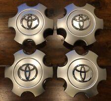 4 Pieces Toyota Tundra Sequoia 2003-2007 Wheel Center Hub Caps 560-69440 Silver